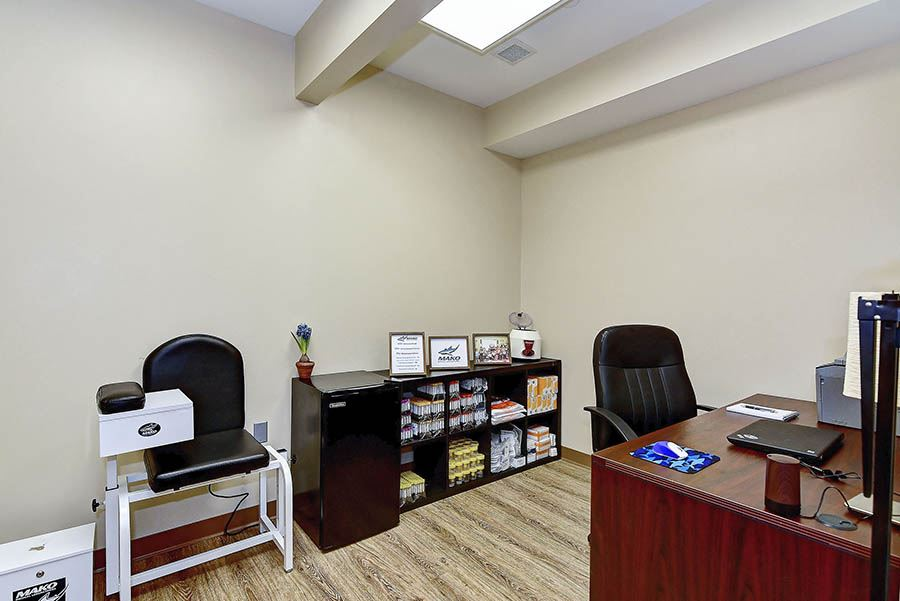 Doctors office at Freedom Detox